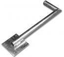 Držiak bočný 48/500mm ľavý -01105