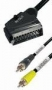 Scart/ 2xCinch In-OUT 2m -VM10S