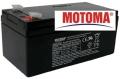 Akumulátor 12V/3.2Ah MOTOMA -04250138