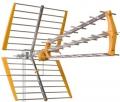 Anténa BKM Triple 18dB+LTE oranžová