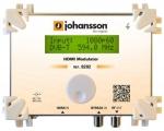 Modulátor 1xHDMI do DVB-T/C Johansson 8202
