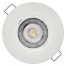 LED bodové svietidlo  5W stropné biele -ZD3122