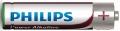 Batéria PHILIPS UA R03 Alkalická Ultra -LR03E4B