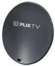 Parabola 100 FE SAB antracit +logo FlixTV