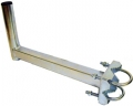 Držiak balkonový 400mm V/H zinkovaný