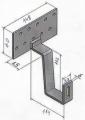 Solárný strešný hák štandard (Bramac,,,)