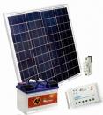 Solárna zostava 80Wp+batéria a regulátor