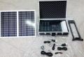 Kamping solárny zdroj s kufríkom