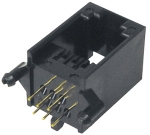 Telefónna zásuvka RJ12 ploš.spoj -TS14-6EKS