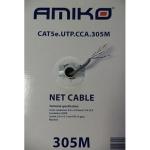 UTP.Cat5e  305m CCA Amiko -CAB-UTPCAT5E