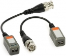 Video balun priamy s káblom -1VP-C